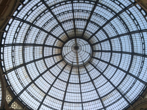 Galleria Vittorio Emanuele II, Milan. (Photo Credit: Marc F. Bellemare.)